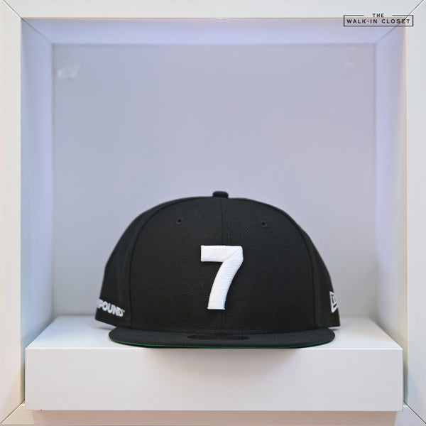 COMPOUND 7 NYC 20 JET BLACK / GLACIAL WHITE NEW ERA SNAPBACK