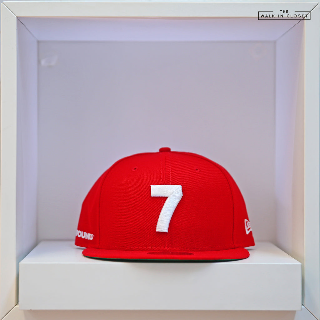 COMPOUND 7 NYC20 SCARLET NEW ERA 9FIFTY SNAPBACK HAT