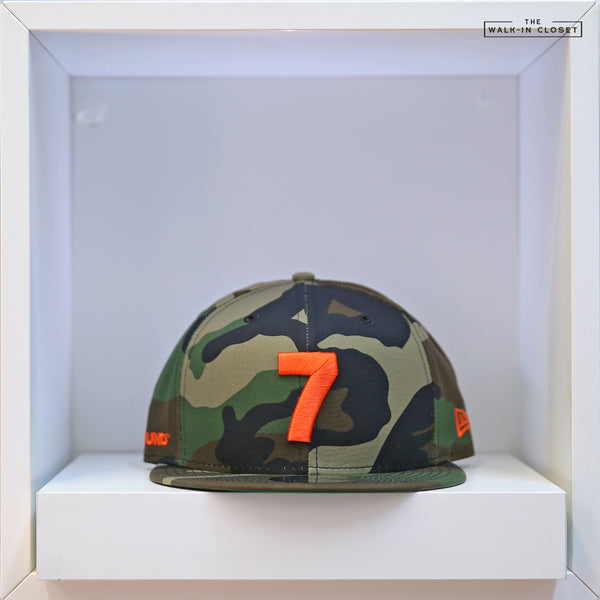 COMPOUND 7 NYC20 WOODLAND CAMOUFLAGE NEW ERA 9FIFTY SNAPBACK