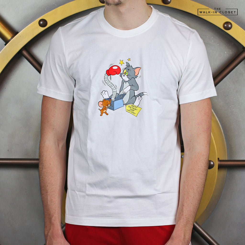 REEBOK X TOM AND JERRY TRIPLE GRAPHIC TEE - GK9165
