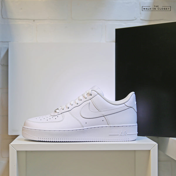 "NIKE AIR FORCE 1 '07 ""TRIPLE WHITE"" - 315122-111"