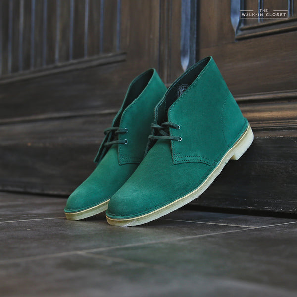"CLARKS ORIGINALS DESERT BOOT ""FOREST GREEN"" - 26144165"
