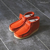 "CLARKS ORIGINALS WALLABEE BOOT ""BURNT ORANGE"" - 26144253"