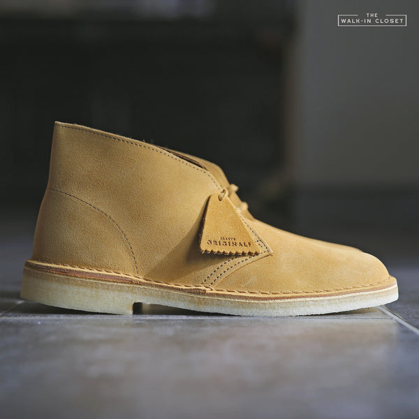 "CLARKS ORIGINALS DESERT BOOT ""OAK SUEDE"" - 26144231"