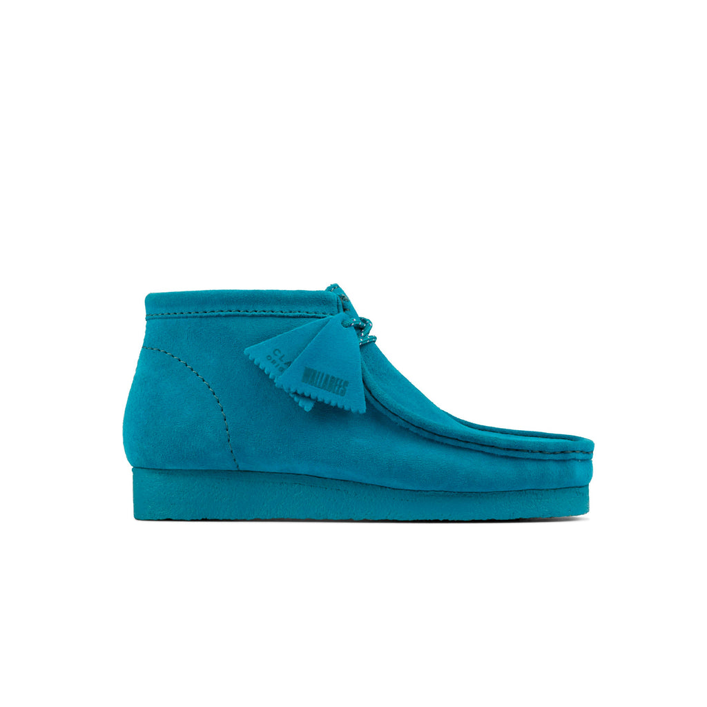 "CLARKS ORIGINALS WALLABEE BOOT ""TEAL SUEDE"" - 26154739"