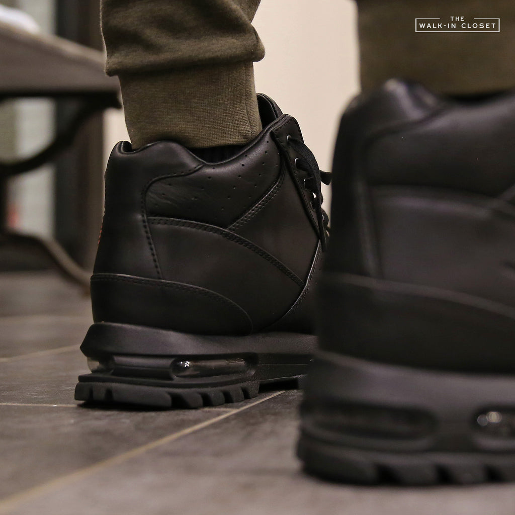 "NIKE AIR MAX GOADOME ""TRIPLE BLACK"" - 865031-009"