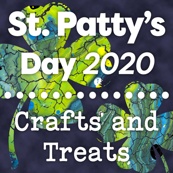 Rainbow and Shamrock Crafts and Snacks for St. Patrick's Day