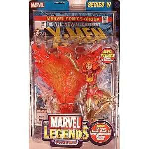 Marvel Legends Series 6 VI Dark Phoenix Red Variant ToyBiz 2004 - Far West Toys