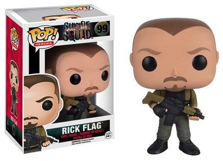Funko POP! Rick Flag Suicide Squad Vinyl Figure #99 - Far West Toys