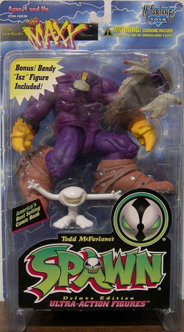 Spawn The Maxx Todd McFarlane action figure - Far West Toys