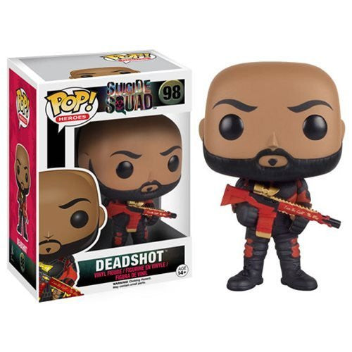 Funko POP! Heroes - Deadshot Unmasked - Far West Toys