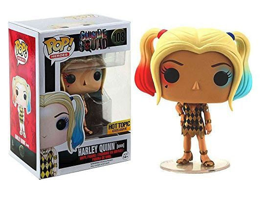 Funko Pop! Suicide Squad Harley Quinn Hot Topic Exclusive Gown #108 - Far West Toys