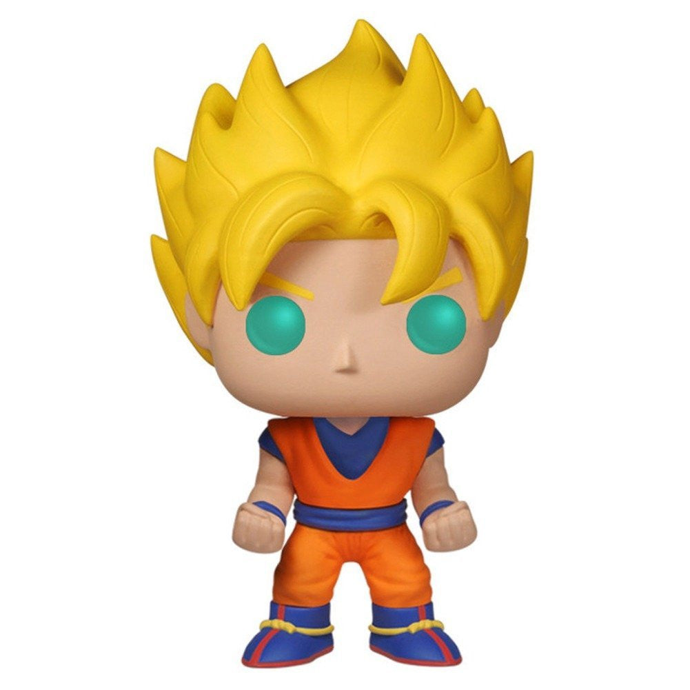 Funko POP! Anime: Dragonball Z Glow In The Dark Super Saiyan Goku Action Figure EE Exclusive - Far West Toys