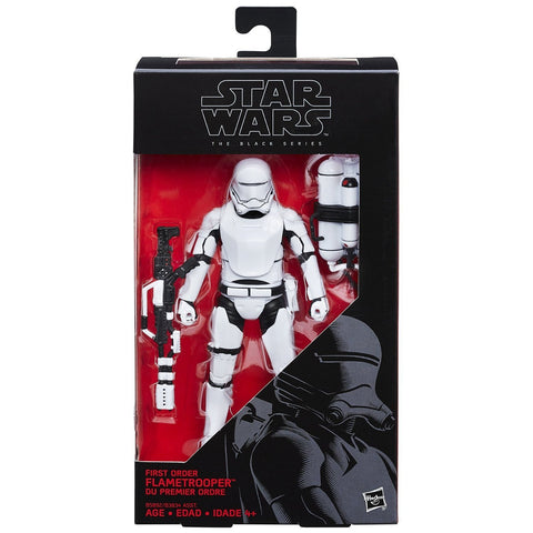 Star Wars The Black Series First Order Flametrooper - Far West Toys