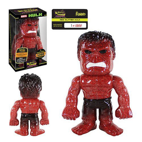 Hikari Sofubi - Red Glitter Premium Hulk - Far West Toys