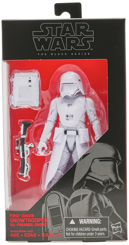 Star Wars The Black Series First Order Snowtrooper - Far West Toys