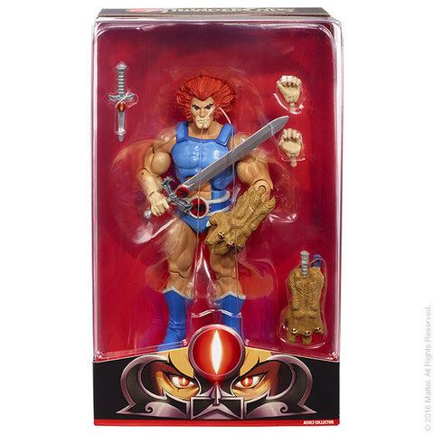 2016 Mattel Thundercats Club Third Earth LION-O Exclusive Figure - Far West Toys