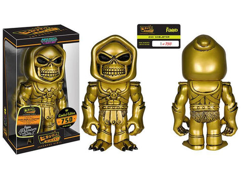 Hikari Sofubi - 24K Skeletor - Far West Toys