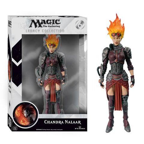 Magic The Gathering  Chandra Nalaar Legacy Action Figure - Far West Toys