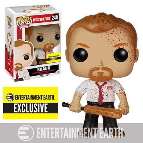 Funko Pop! Movies Shaun of the Dead Entertainment Earth Bloody Vinyl Figure - Far West Toys