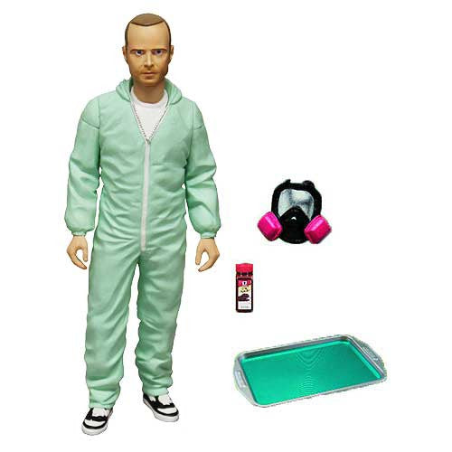 Breaking Bad Jesse Pinkman Blue Hazmat Suit 6-Inch Figure PX exclusive - Far West Toys