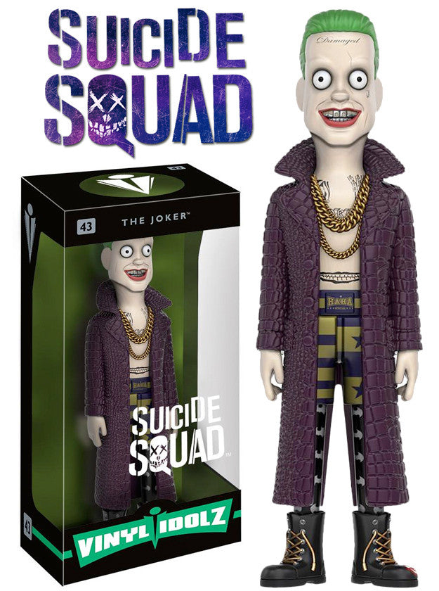 Vinyl Idolz: Suicide Squad - Joker - Far West Toys