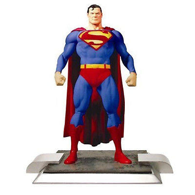 "DC Justice series 1 SUPERMAN 6"" action figure by ALEX ROSS - Far West Toys"
