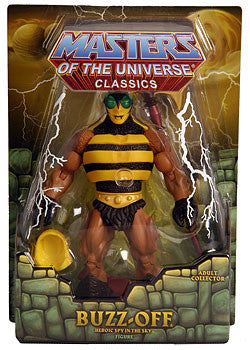 Motu Masters of the Universe Classic Buzz-off action figures - Far West Toys
