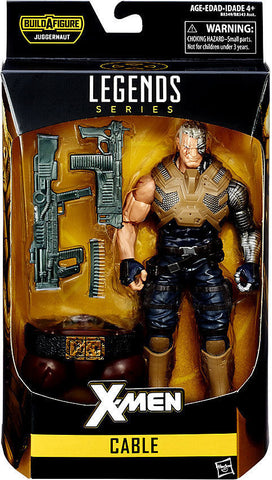 Cable X-Men Marvel Legends Juggernaut Series - Far West Toys