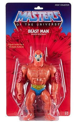 Masters of The Universe Giant Beast Man 12 inch Action Figure - Far West Toys