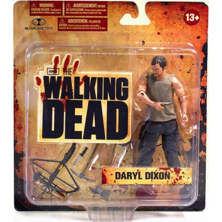 McFarlane Toys Walking Dead AMC TV Series 1 Daryl Dixon Action Figure - Far West Toys