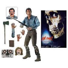 Neca Evil Dead 2 Action Figure 7 inch Scale - Ultimate Ash - Far West Toys