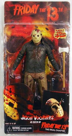 Neca Battle Damaged Jason Voorhees Figure Friday The 13th The Final Chapter - Far West Toys