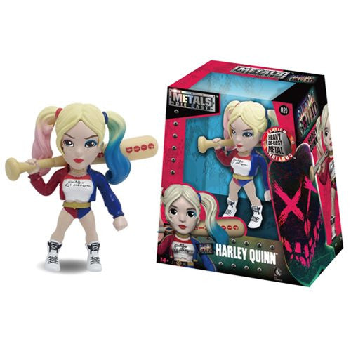 Metals Die Cast  Suicide Squad Harley Quinn 4 Inch Action Figure - Far West Toys