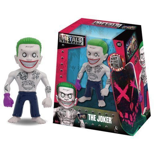 Jada Metals Die Cast 4 Inch Action Figure Suicide Squad The Joker - Far West Toys