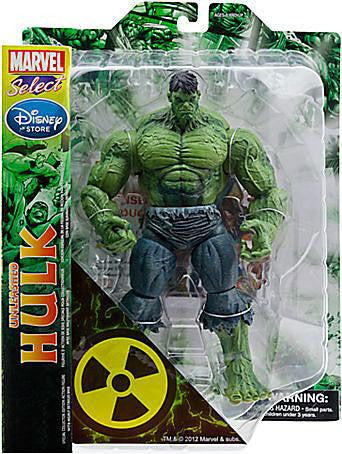Marvel Select Unleashed Hulk Disney Store Exclusive Action Figure - Far West Toys
