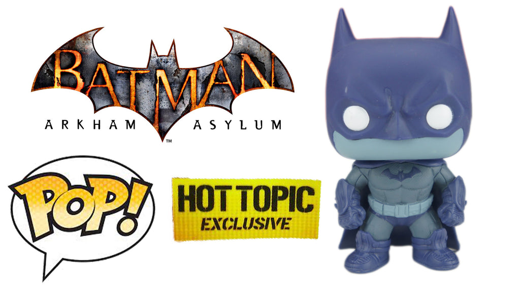 Funko Pop Arkham Asylum Batman Detective Mode Hot Topic Exclusive - Far West Toys