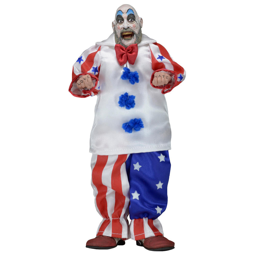 House of 1000 Corpses Captain Spaulding 8-Inch Retro Action Figure - Far West Toys