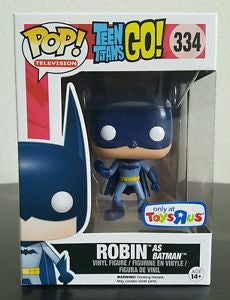 Funko Pop! ROBIN AS BATMAN Teen Titans Go! Toys R Us Exclusive - Far West Toys