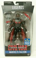 "Falcon Marvel Legends Civil War Walmart Exclusive 6"" action figure - Far West Toys"
