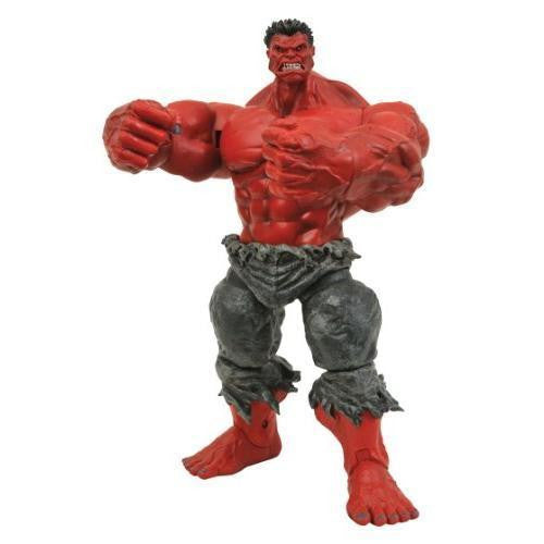 Marvel Select Red Hulk Action Figure - Far West Toys