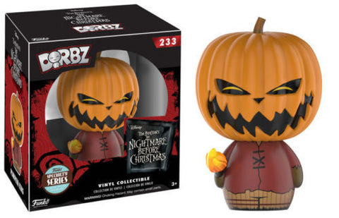 Funko Dorbz the nightmare before christmas Pumpkin King specialty series - Far West Toys