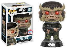 2016 NYCC COMIC CON EXCLUSIVE FUNKO POP STAR WARS ROGUE ONE BISTAN - Far West Toys