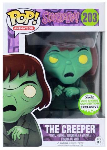 FUNKO POP! SCOOBY DOO THE CREEPER EXCLUSIVE ECCC 2017 - Far West Toys