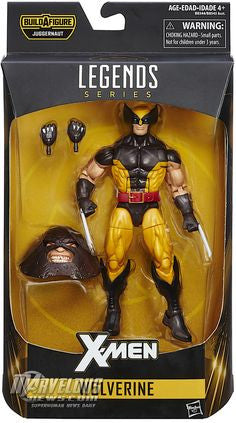 Wolverine Brown  X-Men Marvel Legends Juggernaut Series Wave - Far West Toys