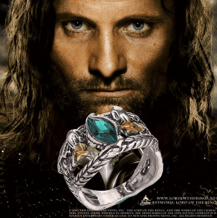 Ring of Barahir Aragorn Gondor The Hobbit  Lord of the Rings - The GearBuyz Store