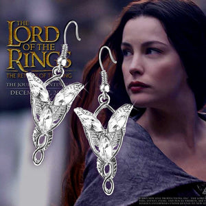 The Hobbit Arwen Evenstar Drop Dangle Earrings - The GearBuyz Store