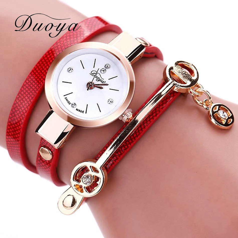 Duoya Fashion Bracelet Watch Combination - The GearBuyz Store
