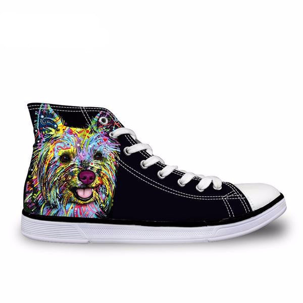 Womens High Top Casual Shoes Yorkie C590AK - The GearBuyz Store