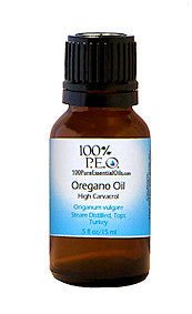 Pure Oil Of Oregano - Origanum vulgare, 1 oz (30ml)